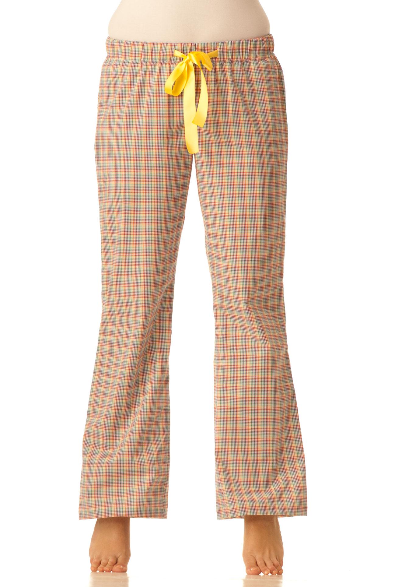 Pyžamové kalhoty - Barevná kostka